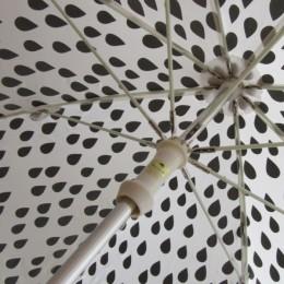 傘の骨組みにはグラスファイバーが使われています。(あと、「セイフティろくろ仕様」になってますよ。)