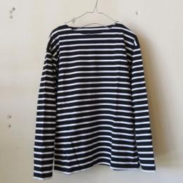 バスクシャツ (black x white)
