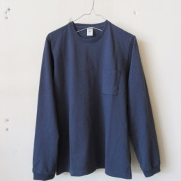Pocket L/S T-Shirt (Classic Navy)