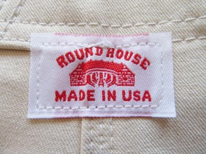 ROUND HOUSE (・・もちろん「MADE IN USA」!!。)