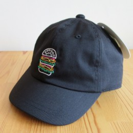 EMBROIDERED CAP (BLACK)