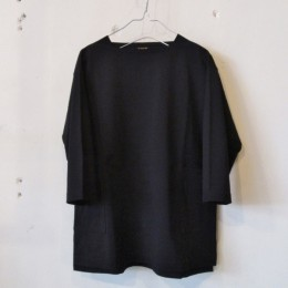 Boatneck 3/4 Sleeve (BLACK)