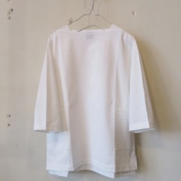 Boatneck 3/4 Sleeve (WHITE)