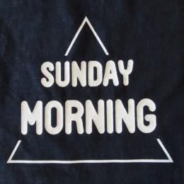 ズバリ!「日曜の朝」。