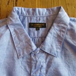 台襟のない小ぶりな衿に仕上がってますよ。