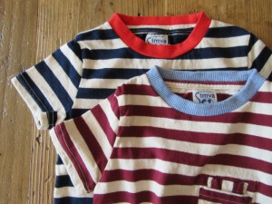 W-Pocket Border Tシャツ (kids)
