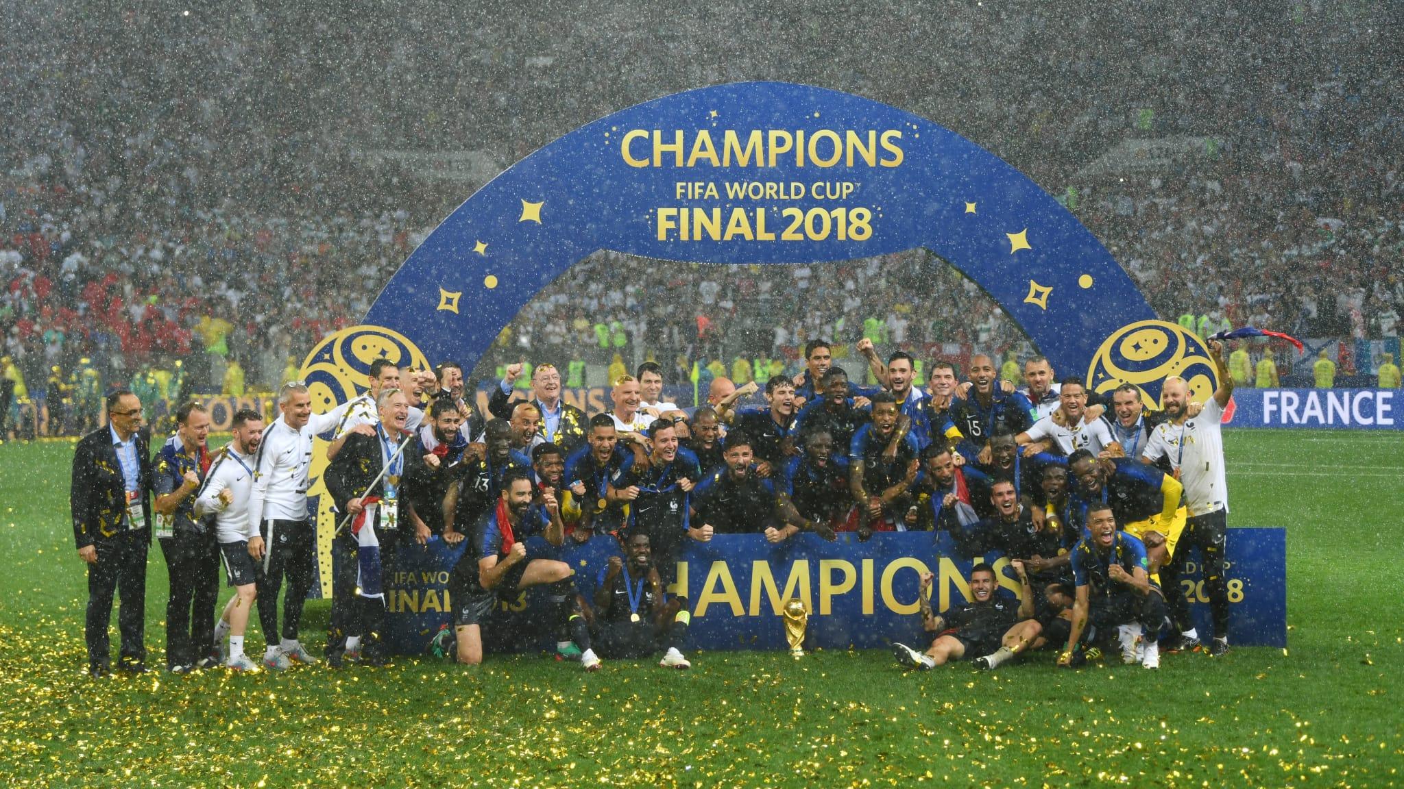 フランスのみなさま、2度目の優勝!おめでとうございます!!。