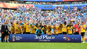 ベルギーのみなさま!おめでとうございます!!。(これで日本チームもすこしは報われたような気がします・・。)
