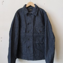 Short Fatigue Jacket (INDIGO)