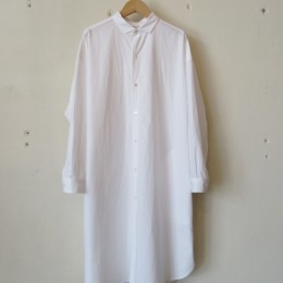 Big Shirts Dress (WHT)