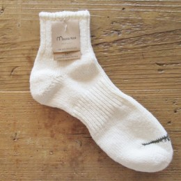 LOW SOCKS スラブネップ(Off White)