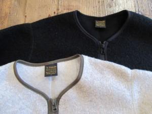Wool Pile Zip Cardigan
