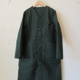 QUILTING WORK COAT (GREEN)