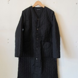 QUILTING WORK COAT (BLACK)