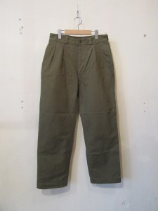 Mil.2 Tuck Trousers