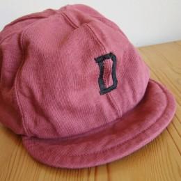 Dotsume Baseball Cap (C/#26 Dry Rose)