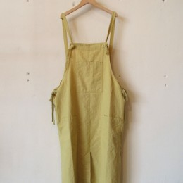 UTILITY APRON SKIRT (YELLOW)