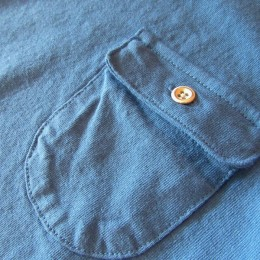 お馴染みの「フラップポケット」が付いてますよ。