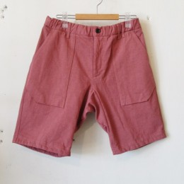 Dotsume Shorts (C/#26 Dry Rose)