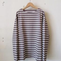 バスクシャツ(taupe x off)
