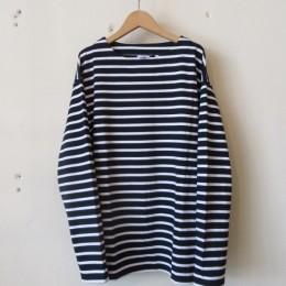 バスクシャツ(black x white)