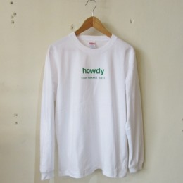 ハウディーTシャツ (Long Sleeve)