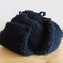 RETRO EAR CAP (BLACK)