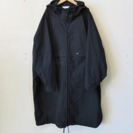 Nylon Full-Zip Ponch (Black)