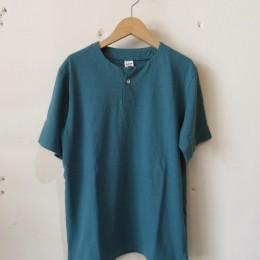 Henleyneck T-Shirt (Aqua)