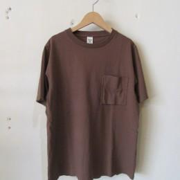 Pocket T-Shirt (Brown)