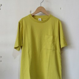 Pocket T-Shirt (Sulphur Yellow)