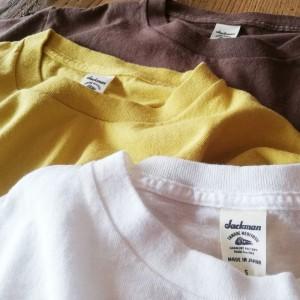 おなじみのTシャツたちが届きましたよ~っ!。