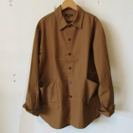 Gardener Shirt Jacket (TAN)