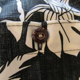 よく見るとココナッツボタンが付いてますよ。