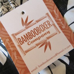 「BAMBOOBOXER」のダブルネームになります。