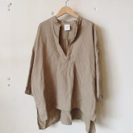 リネンスキッパーシャツ (Beige)