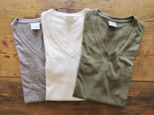US Cotton V-Neck T-Shirt S/S