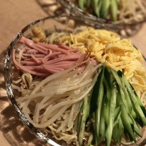 画像。)我が家の冷中 【提供:新村製麺】
