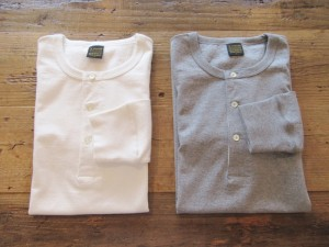 Henly Neck L/Sleeve Tube T-Shirt