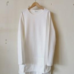 L/S Waffle T-Shirt (White)