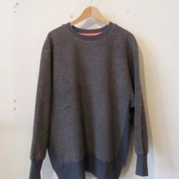 Boa Crew neck Pullover (Gray)