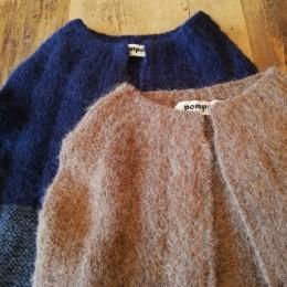 編みかえ具合もまたかわいいんです!。