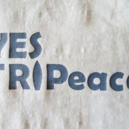 「YES TRIPeace(TRIP+Peace の造語だそうですよ!。)」