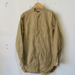 Banded Collar Shirts (BEIGE)