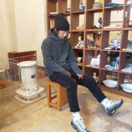 モデル:ぬくぬく(な?)店主 172cm,57kg/着用サイズ:S