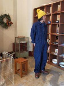 モデル:石金除雪隊員及び清掃員(自称?)の、店主 172cm,57kg/着用サイズ:176-95