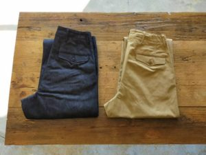 Type45 Chino Trousers  – Wide Fit -