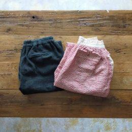 sashiko easy trousers